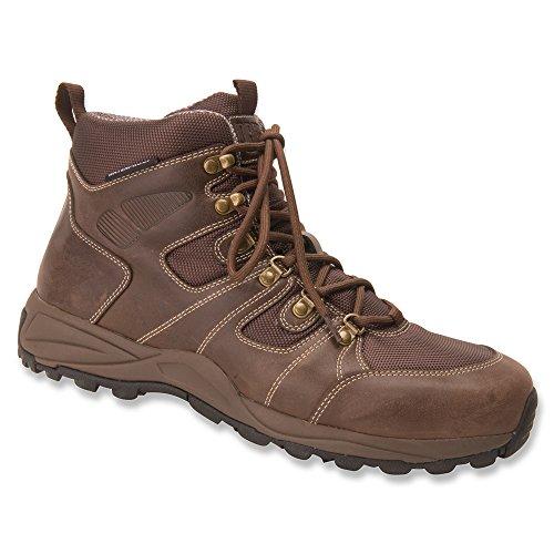 Drew Trek Waterproof Boot Dark Brown Leather 10.5