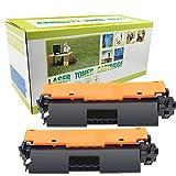 Cartuccia di toner CRG-047 CRG047 CRG 047 compatibile con Canon ImageClass MF-113W MF-112 LBP-112 LBP-113W Stampante, confezione da 2, nero, con chip