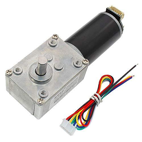 50 tr//min 12VDC 2P 6 mm Diamètre de l/'arbre Electric Geared box motor