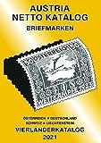 ANK-Vierlaenderkatalog 2021: Alle Briefmarken von Österreich inkl. UNO Wien, Deutschland, Schweiz und Liechtenstein bis Ende des Jahres 2020.