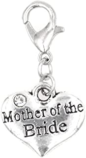 It's All About...You! Mother of Bride Clip on Charm Perfect for Necklaces and Bracelets 95Aa