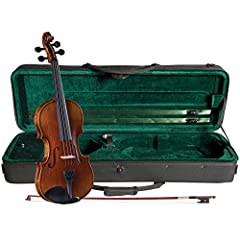 """Strings Magazine reviews SV-500 as """"a good choice for anyone looking for a first or second violin"""" See Video and Product Details PDF file below for the complete review Best tone quality for the advanced student and Cremona's most popular violin for s..."""