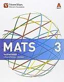 MATS 3 (Matematiques ESO) Aula 3D - 9788468231952