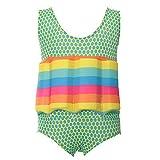 Caerling Mädchen Jungen Schwimmanzug Unisex Badenanzug mit Schwimmkraft Baby Schwimmhilfe für 0-5 Jahre