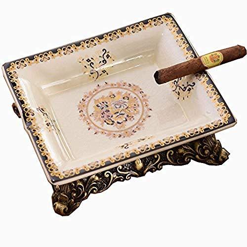 LILICEN Cenicero, Arte Decoraciones artesanía de cerámica cenicero de Cigarrillo turística de Fumadores Cenicero for Fumadores de la Cubierta Principal Regalo
