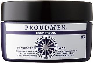 プラウドメン フレグランスワックス 60g 整髪料 スタイリング剤 ヘアワックス メンズ 男性