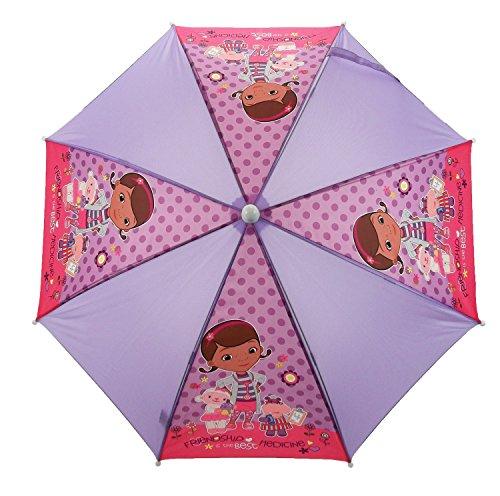 Disney Doc McStuffins Boo Boos, Kinder Taschenschirm Pink Rose