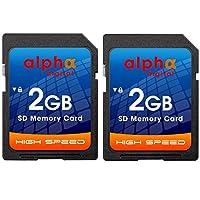2GB SDカード [ツインパック] Nikon Coolpix S7000, S6900, P530 P600 A10 A300 W100 W300 A900 B500 B700 L830 P610 P700 3200 L22 S210 L840 L830 L820 L620 L610 デジタルカメラ用