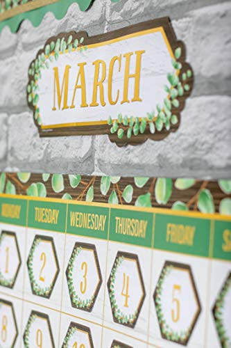 Teacher Created Resources Eucalyptus Calendar Bulletin Board, TCR8452 Photo #4