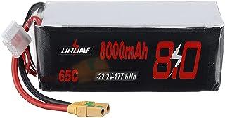 KINGDUO 22.2V 8000Mah 65C 6S Lipo Batterie Xt90 Prise pour DJI S800 Quadricoptère