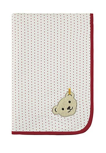 Steiff Baby-Mädchen Decke Schlafsack, Weiß (Allover|Multicolored 0003), One Size (Herstellergröße: 00)