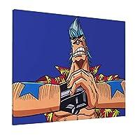ONE PIECE ワンピース (23) アートパネル水彩画 フレーム 湿気を防ぐ 油絵 キャンバスアート アートフレーム額縁付き パネルアート インテリア 絵画 壁掛け 飾り絵 装飾軽くて取り付けやすい (40X50CM)