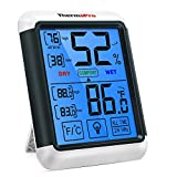 ThermoPro TP55 Digital Hygrometer Indoor Thermometer Humidity Gauge with Jumbo...