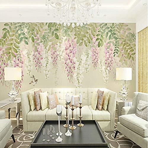 Tapete/Wandbild Leinwand Wandverkleidung - Klebstoff erforderlich Malerei/Art Deco / 3D@312 cm * 219 cm