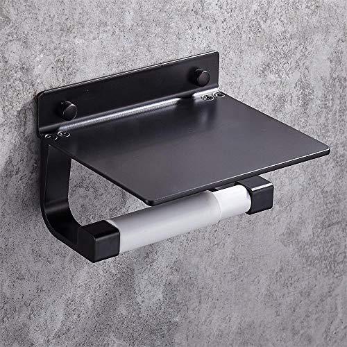 ETH Zwart Telescopisch Toiletpapier Houder Handpapier Rolhouder Toiletpapier Houder Handdoek Rack Badkamer Hardware Accessoires duurzaam