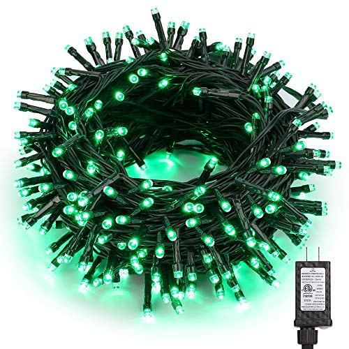 BrizLabs Green String Lights, 78.74ft 240 LED Halloween Green Lights, Plug-in Mini LED String Lights Connectable, Outdoor Lights Waterproof for Outside Indoor Room Christmas Decor