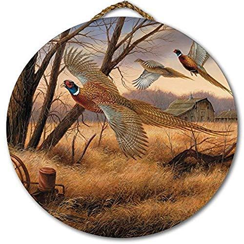 wgi Galerie war-pw Prairie Flügel rund Art Wand