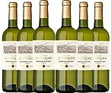 Collines Antiques - Vino blanco denominación de origen controlada Burdeos, añada 2018, (6 botellas de 750 ml)