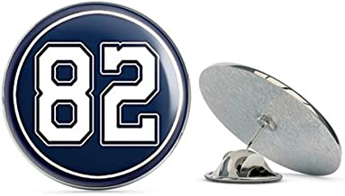 NYC Jewelers Round #82 Jason Witten Cowboys Colors (Dallas Number 82) Metal 0.75
