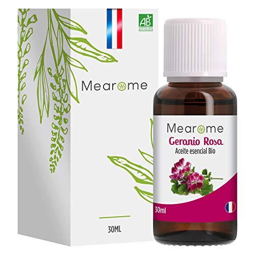 Aceite Esencial Geranio Rosa Puro 30 ml, 100% Natural y Bio