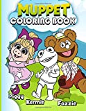 Muppet Coloring Book: Muppet Unofficial High Quality Coloring Books For Kids And Adults. (Unofficial High Quality)