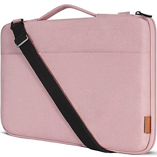 DOMISO 13,3 Zoll Laptop Tasche Hülle Wasserdicht Stoßfestes Notebook Sleeve Hülle Schultertasche Schutzhülle für Apple 13