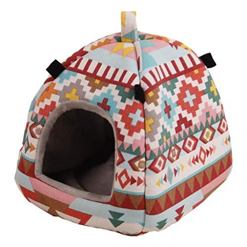 NA/ Marginf Pet Hamster Tent Winter Warm Sugar Glider Hamaca Jaula Cama...