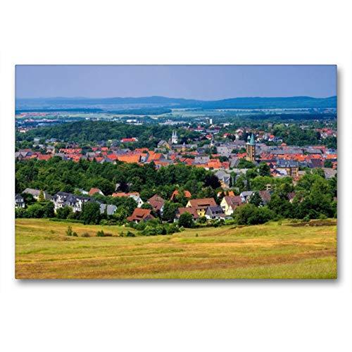 Premium Textil-Leinwand 90 x 60 cm Quer-Format Goslar | Wandbild, HD-Bild auf Keilrahmen, Fertigbild auf hochwertigem Vlies, Leinwanddruck von LianeM