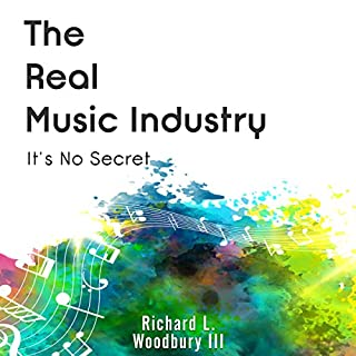 The Real Music Industry audiobook cover art