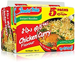 Indomie Pillow Pack - Chicken Curry Flv - Pack of 5 2724444623790