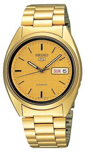 Seiko herenhorloge automatisch met roestvrijstalen armband - SNXL72