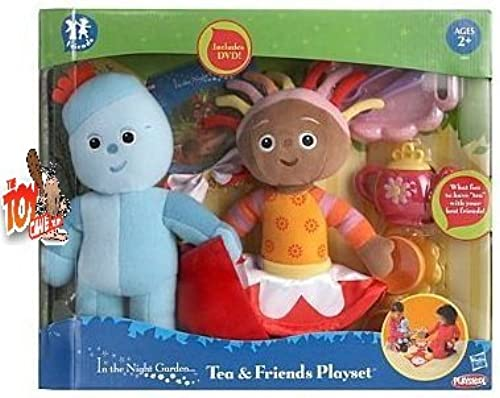 In the night garden Tea Party Iggle Piggle & Upsy Daisy 33 cm Plush Set