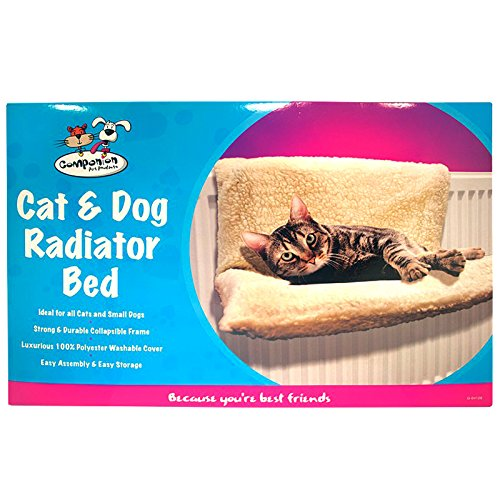 Cat Dog Pet Radiator Bed Fleece Hammock Warm Kitten Puppy Cradle Animal Basket Shopmonk