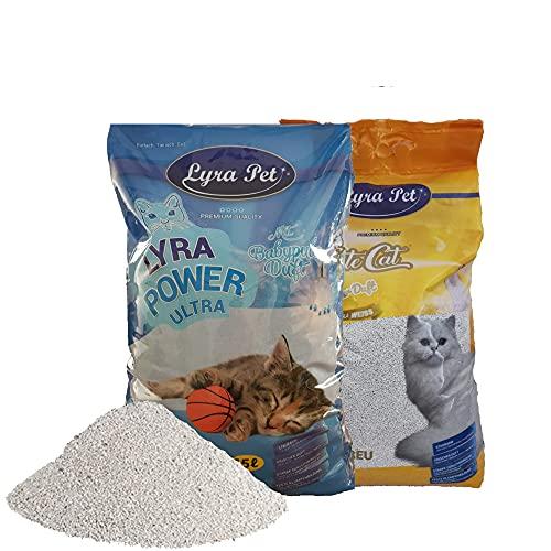 Lyra Pet ® 30 L Cats Power Ultra Excellent Katzenstreu Klumpstreu FEHLABFÜllUNG