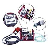 Wonduu - Bomba Diesel | Bomba de Transferencia Combustible | 24 V | Eléctrica con flujo máximo de 10-50L / Min | Bomba de surtidor Diesel | 200W