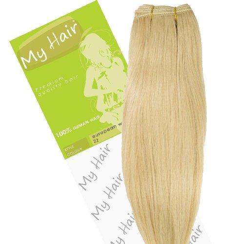 My Hair Extensions de cheveux Couleur 22 cm
