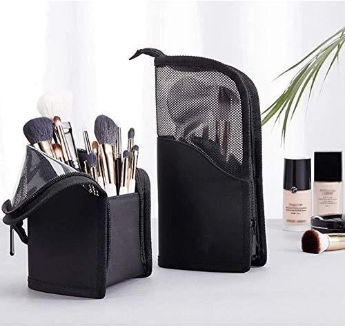 YYSLT Cepillos del Maquillaje estereoscópica Bolsa de Almacenamiento de Tocador Portable de la Manera envase cosmético del Organizador del Recorrido del hogar Baño ahorrador de Espacio Kit