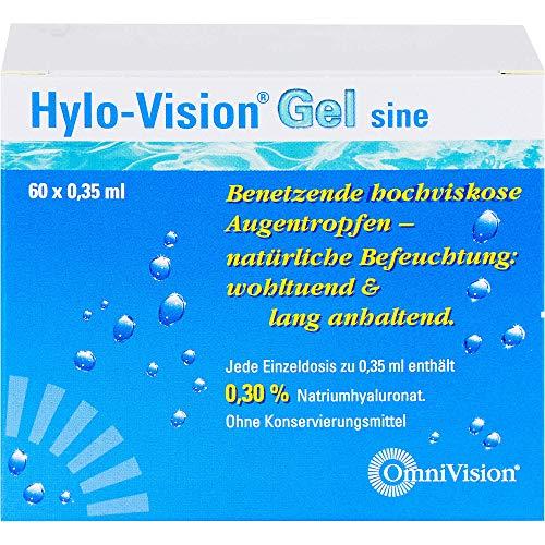 Hylo-vision Gel sine Einzeldosispipetten 60X0.35 ml