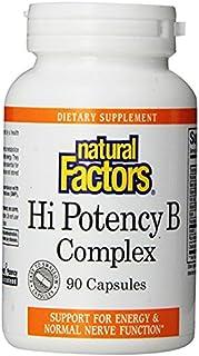 Natural Factors Hi Potency B Complex 50 mg