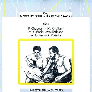 Duo Fragnito - Matarazzo Plays Gragnani, Giuliani, Castelnuovo-Tedesco, Jolivet, Rosetta