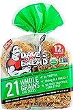 Dave's Killer Bread Organic Burger Buns, 21 Whole Grains & Seeds, 6g Protein, 12g Whole Grains,,...