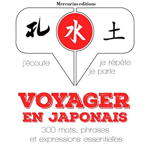 Couverture de Voyager en japonais, 300 mots phrases et expressions essentielles