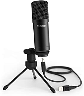 Fifine K730 USB Desktop Microphone F/ Recording Podcasting Condenser Microphone