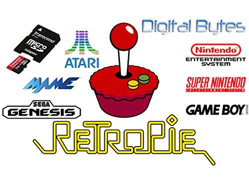 16GB MicroSDHC Class10 Card for RetroPie on Raspberry Pi 0 Zero, 1, 2, and 3