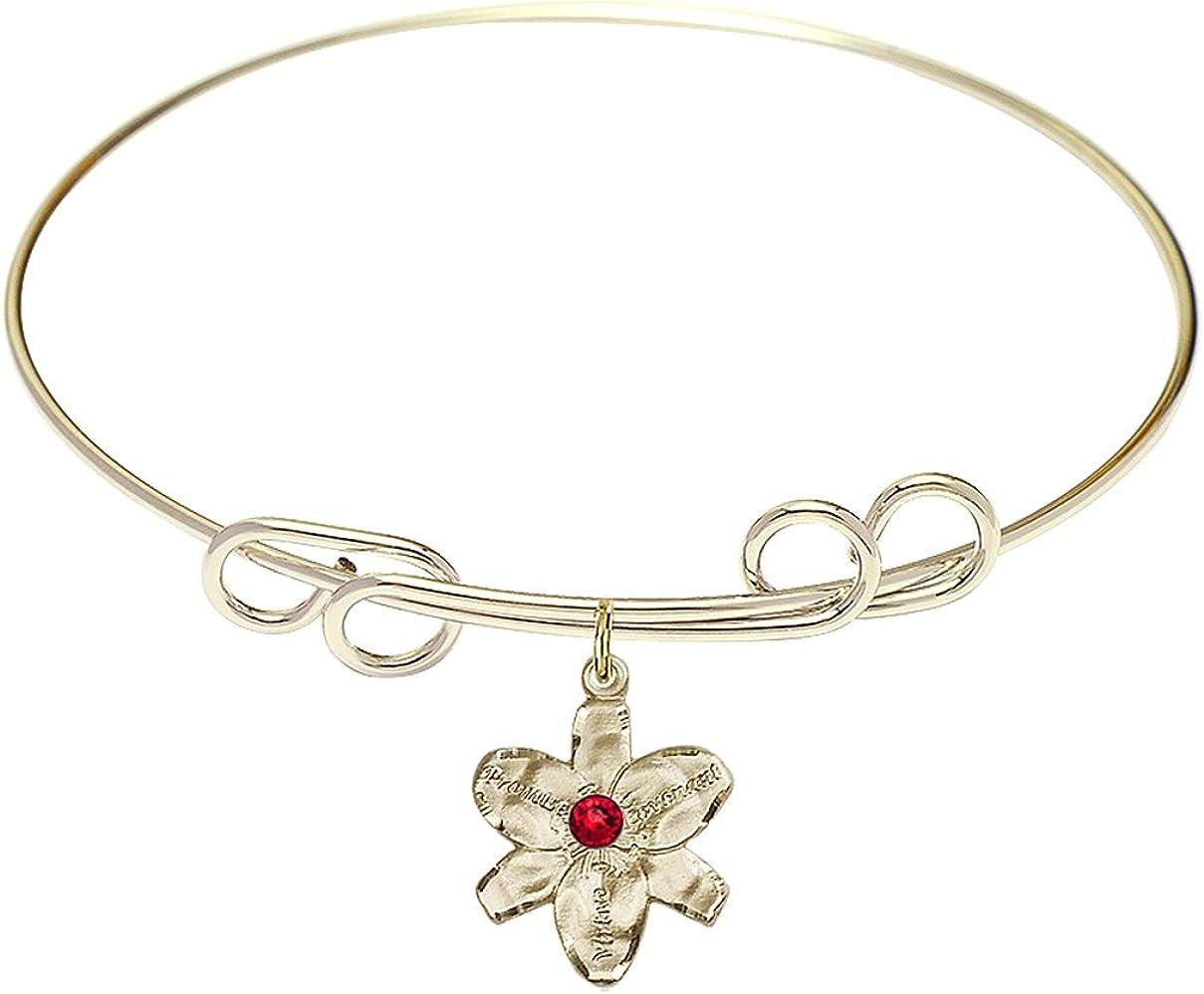 DiamondJewelryNY Double Loop Bangle Save money Bracelet with Lowest price challenge Chastity a Cha