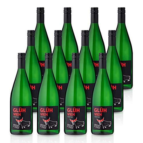 GLÜHVIEH Glühwein Weiß Pfalz - Weingut Metzger (12x 1,0l)
