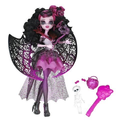 Monster High X3716 - Bambola, Draculaura versione Halloween
