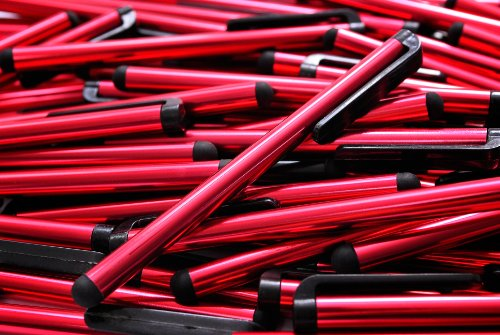 100pcs Smart Phone/Smart Tablet Red Stylus Pen