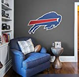 FATHEAD NFL Buffalo Bills - Logo- Officially Licensed Removable Wall Decal, Multicolor, Giant - 14-14265