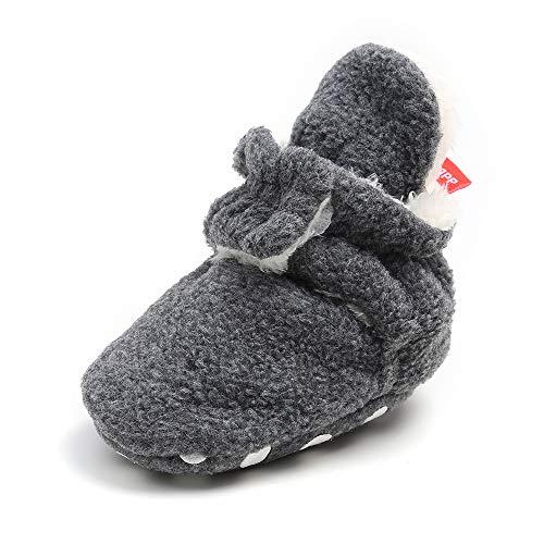 MK MATT KEELY Unisex Baby Schlupfstiefel Baby Winterstiefel Jungen Winter Babyschuhe Mädchen 12-18 Monate